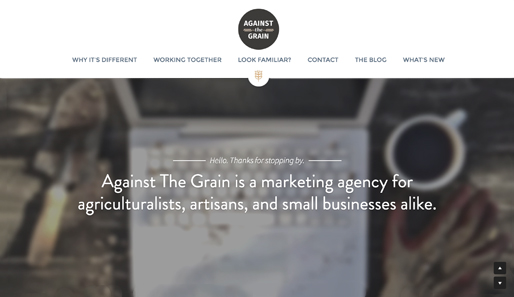 Marketing Assistance that Goes Against The Grain