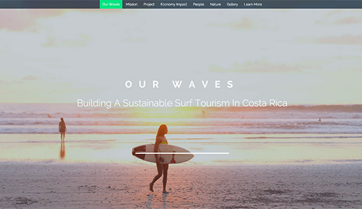 Sustainable Surfing in Costa Rica