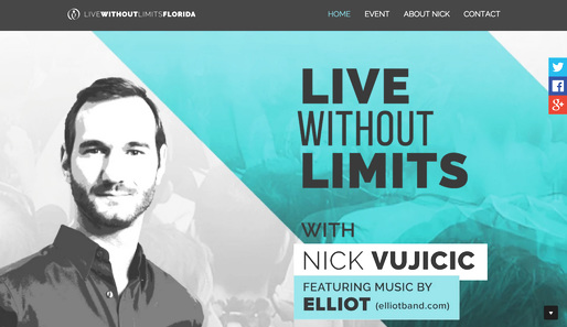 Live Without Limits with Nick Vujicic
