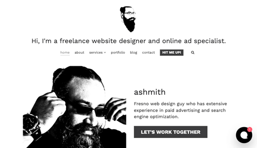Web Design Fresno + SEO by Ashmith