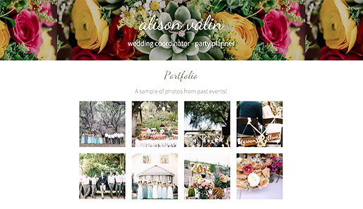 Alison Valin Events