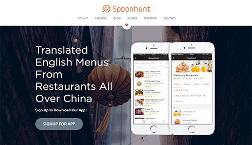 Spoonhunt | China Restaurants, English Menus, Ordering