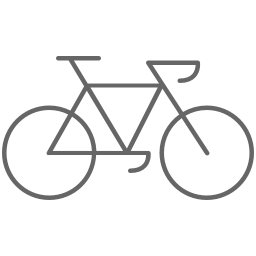 Bike icon: nutrition, physical activity, sleep